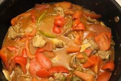 独家秘制好吃:番茄汁、椒烧排骨