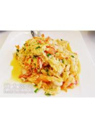 蟹肉虾仁滑蛋(豆油伯金豆酱油)