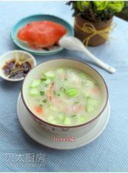 【发现水的味道】+蟹粉丝瓜粥