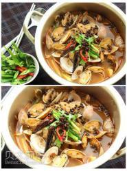 为贝太做道菜——水煮花蛤的做法