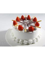 草莓蛋糕-草莓裱花蛋糕-草莓裱花蛋糕做法大全