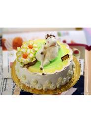 马蛋糕图片-卡通马蛋糕图片-生肖马蛋糕制作