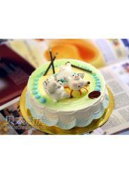 小猪蛋糕-小猪造型生日蛋糕-小猪蛋糕图片