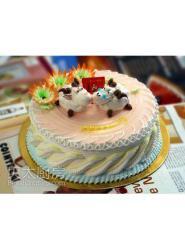 喜羊羊蛋糕-喜羊羊生日蛋糕-喜羊羊生日蛋糕图片