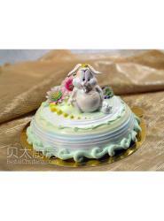 兔子蛋糕-兔子蛋糕图片-兔子蛋糕做法