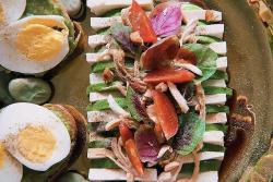 『小醋轻食』牛油果豆腐排沙拉+牛油果有机蛋全麦面包