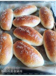 麦芯粉做咖喱土豆泥餐包