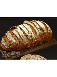 豆沙面包-面包砖-面包配方