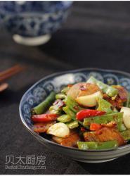 四季豆回锅肉