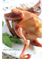 外焦里嫩-----蜜汁烤乳鸽