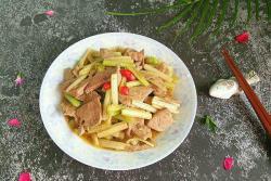 芹菜炒猪肝#爱的周年庆#