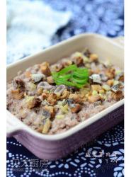 【咸鱼蒸肉饼】——简单且家常的下饭菜