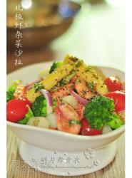 北极虾杂菜沙拉